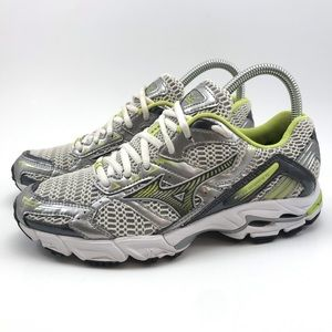 Shoes - Mizuno Wave Inspire 6 Grey/Lime Green Size 7
